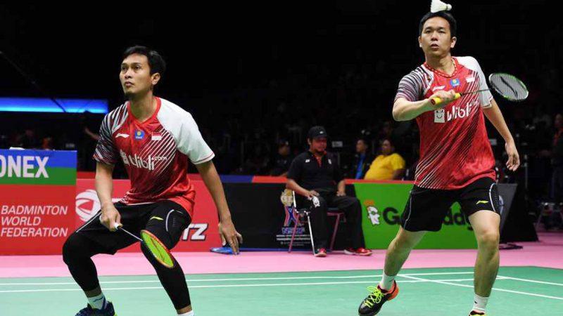 Ahsan/Hendra Jadi Tumpuan Indonesia di Final