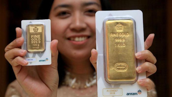 Pemilu Bikin Penjualan Emas Batangan Lesu