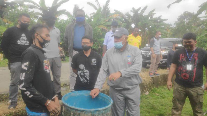 Kapolda Papua dan Kapolres Mimika Pimpin Penggerebakan Penyulingan Milo