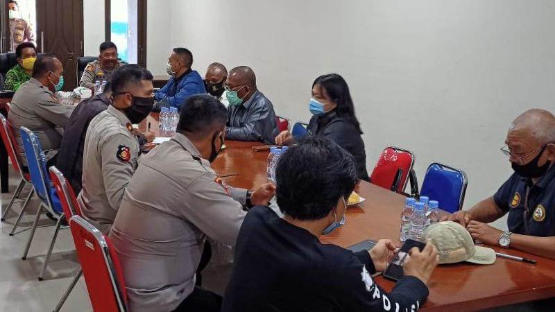Dukungan Demi Terciptanya Kamtibmas, Komisi A DPRD Kunjungi Polres Mimika
