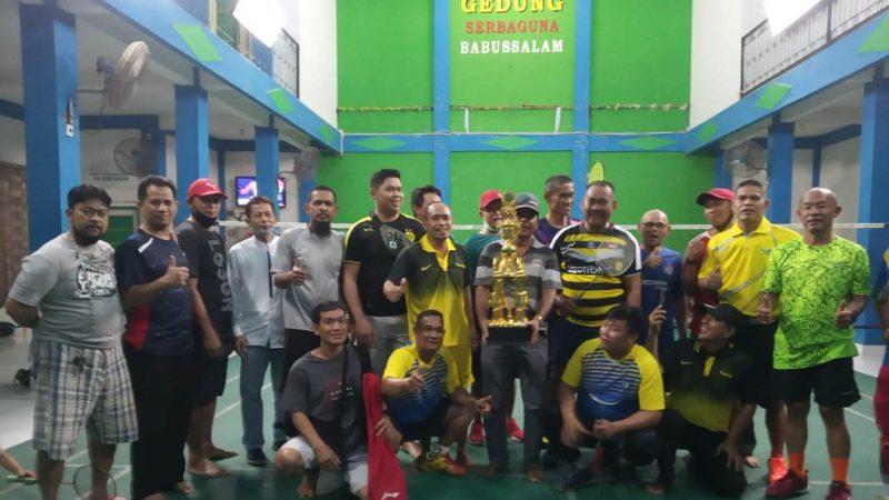 Ganda Putra H. Syamsudin/Edo, Sabet Piala Badminton Babussalam Cup II 2020