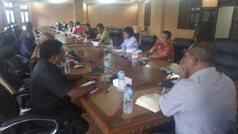RDP Dengan Komisi C, PT Swasta Minta Perhatian Pemkab Mimika