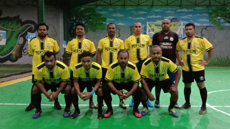 Turnamen Futsal KNPI Cup I : Allstar Persemi Kalah dari Mapikendes 2-4