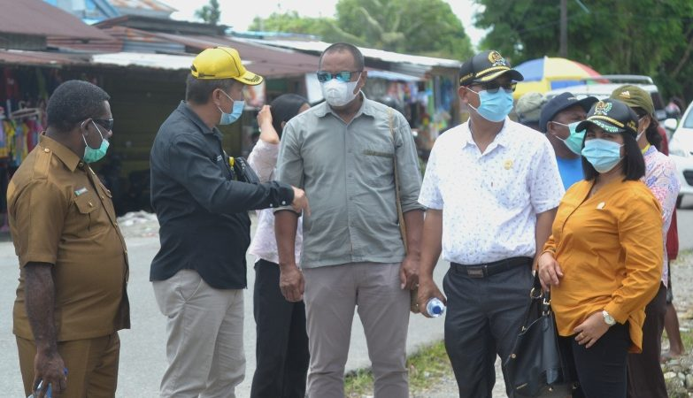 Komisi B Desak Disperindag Menata Pasar Karang Senang SP3