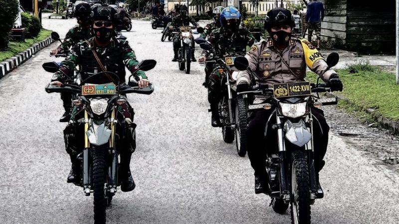 Sinergi TNI-Polri Ciptakan Timika Yang Aman Melalui Patroli Gabungan