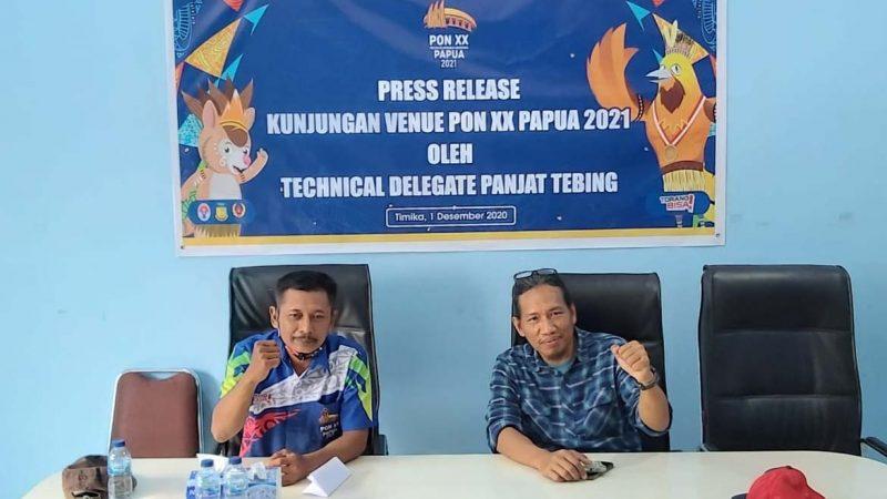 Tinjau Venue Panjat Tebing Timika, Venue Terbaik di Indonesia