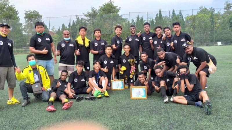 Finish Sebagai Juara II, Persemi U-15 Persembahkan Kado Natal Bagi Warga Mimika