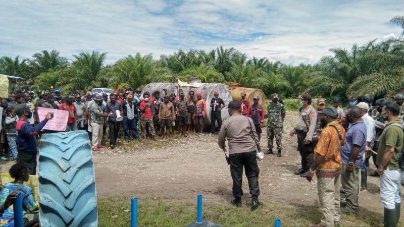 Warga Pemilik Ulayat Lokasi Perkebunan PT PAL Menuntut Ganti Rugi
