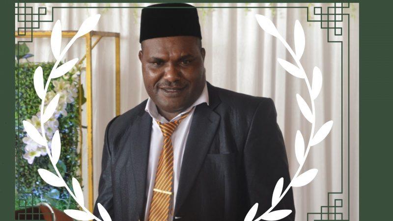 Mimika Berduka, Ketua DPRD Robby Omaleng Meninggal Dunia
