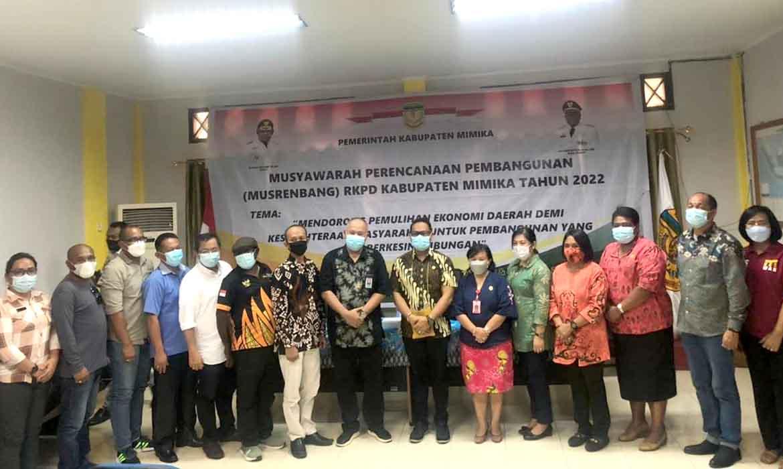 Musrenbang RKPD Kabupaten Mimika Tahun 2022 ditutup
