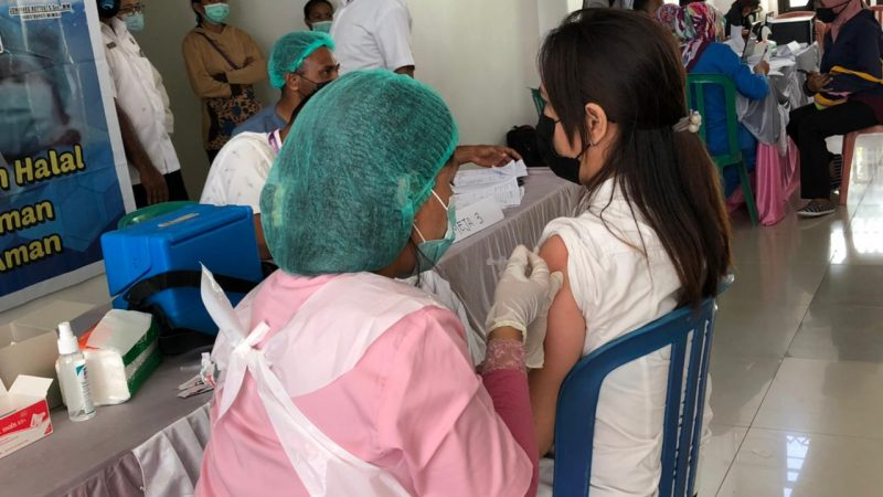 60 % Vaksinasi Tahap Kedua Sudah Menyeluruh, Akan Dilanjutkan Vaksinasi Bagi Lansia