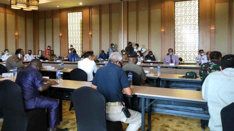 Mimika Lockdown Bulan Depan, Pelaksanaan PON XX, Pesparawi XIII, dan Konferensi Kingmi Terancam Batal