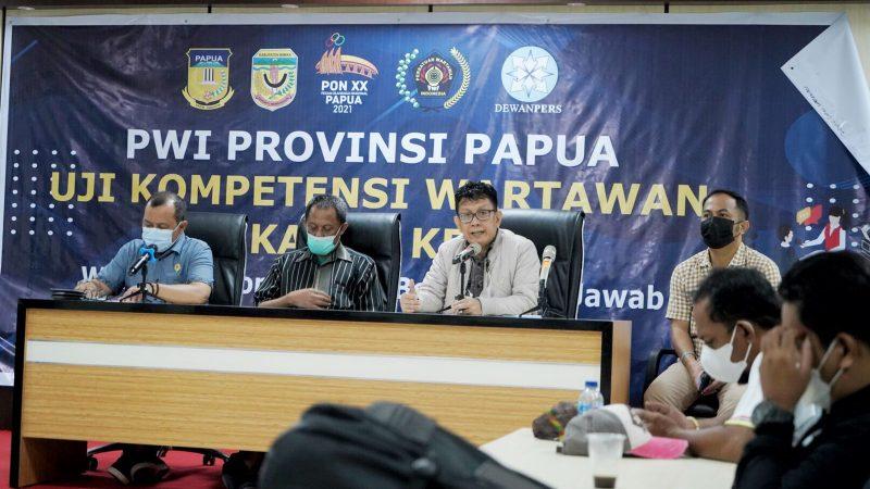 17 Wartawan Mimika Dinyatakan Berkompeten dan Lulus Dalam UJi Kompetensi